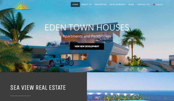 Sea View Real Estate Designed by Wiidoo Media Digital Marketing Marbella-