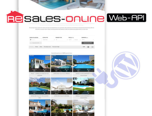 Webapi Version 6.0 Resales Online – WordPress plugin