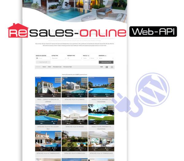 resales online wordpress plugin costa del sol property portal wordpress plugin marbella wiidoo