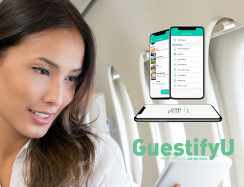 GuestifyU Hotel Management App website design