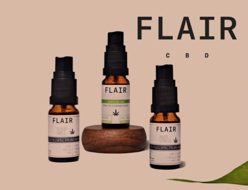 WordPress website design for Flair CBD Lifestyle