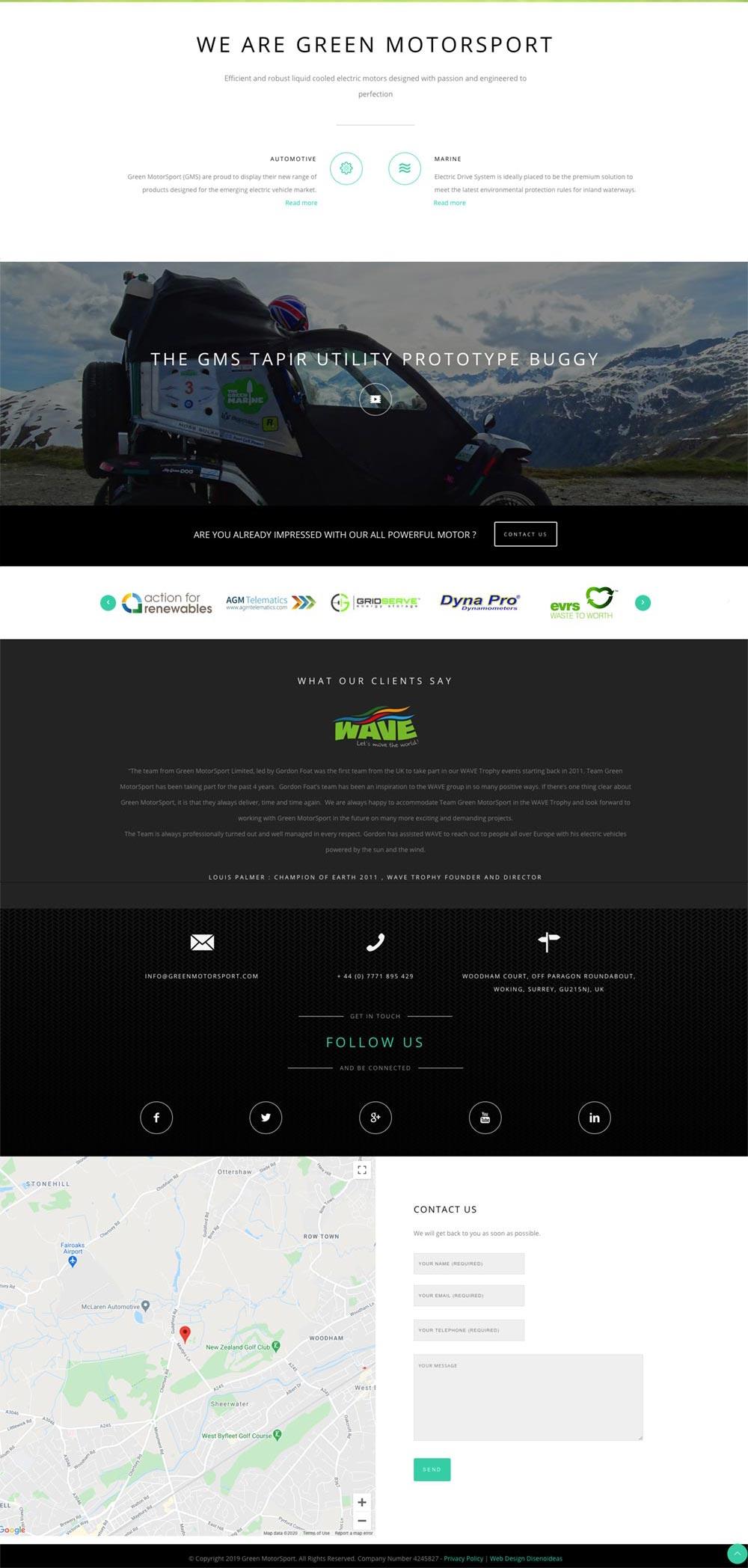 mobile friendly website design with wordpress by wiidoo media marbella