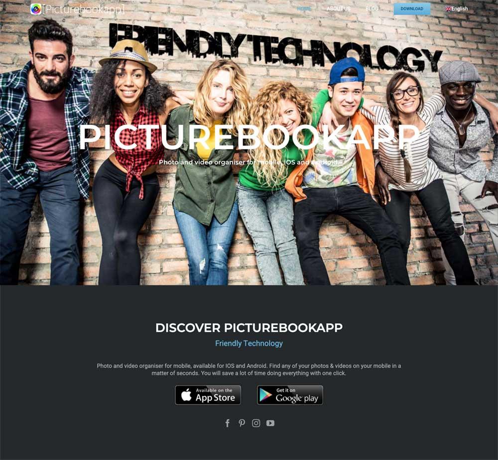 picturebookapp social media marketing by wiidoo media marbella wordpress website and app designers
