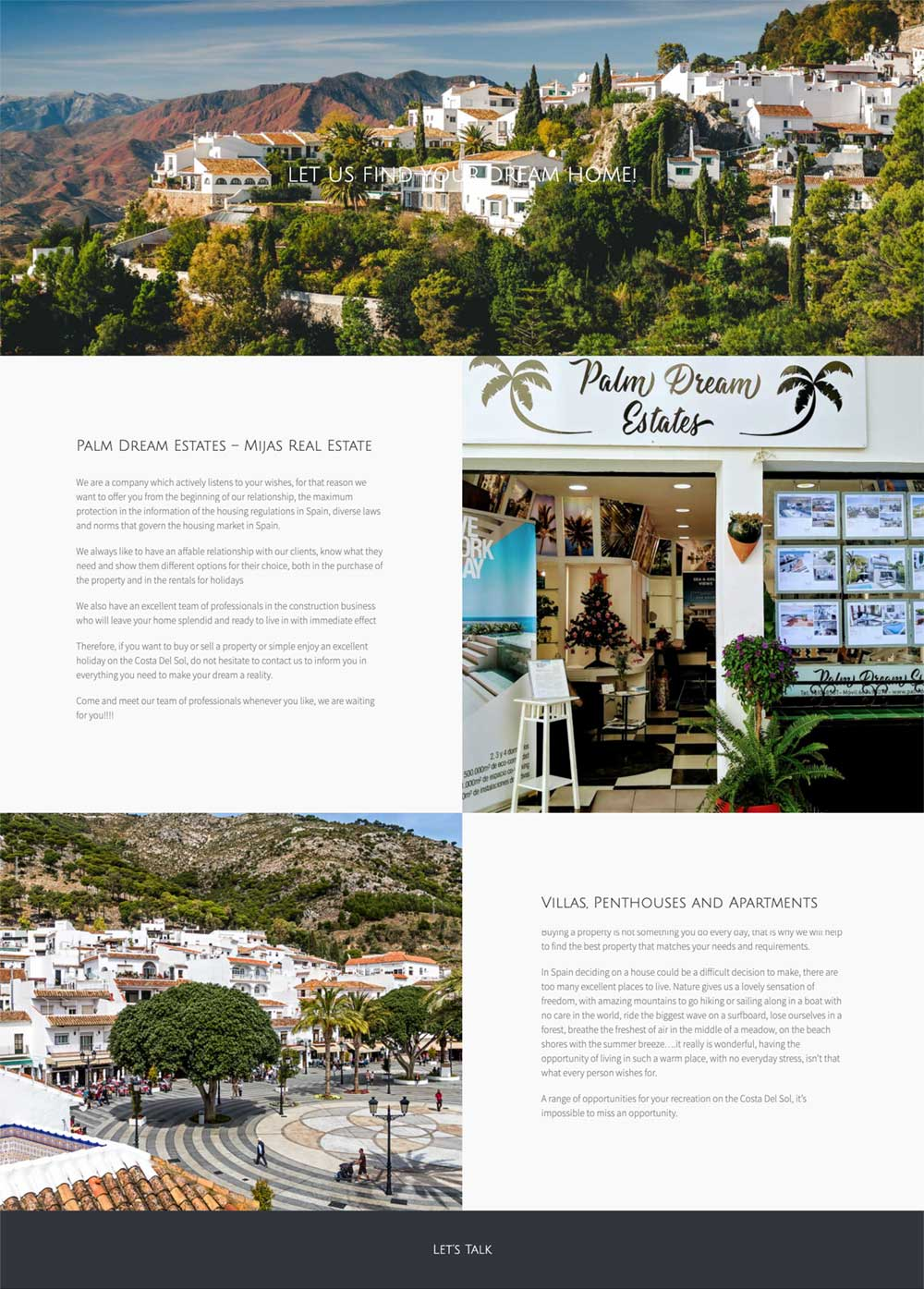 marbella website design agency real estate website designs marbella