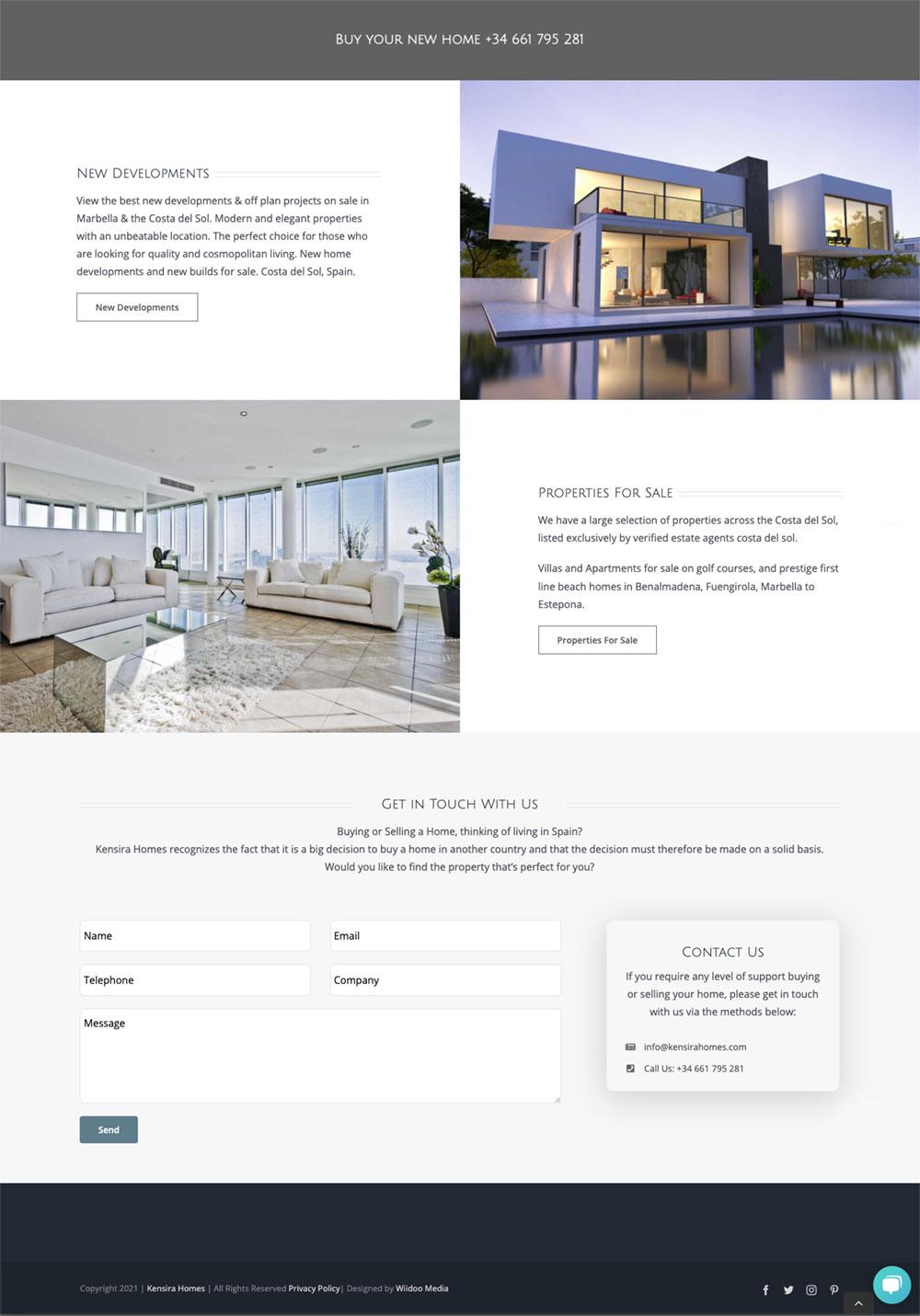 property website design marbella real estate website wordpress plugin resales online marbella design