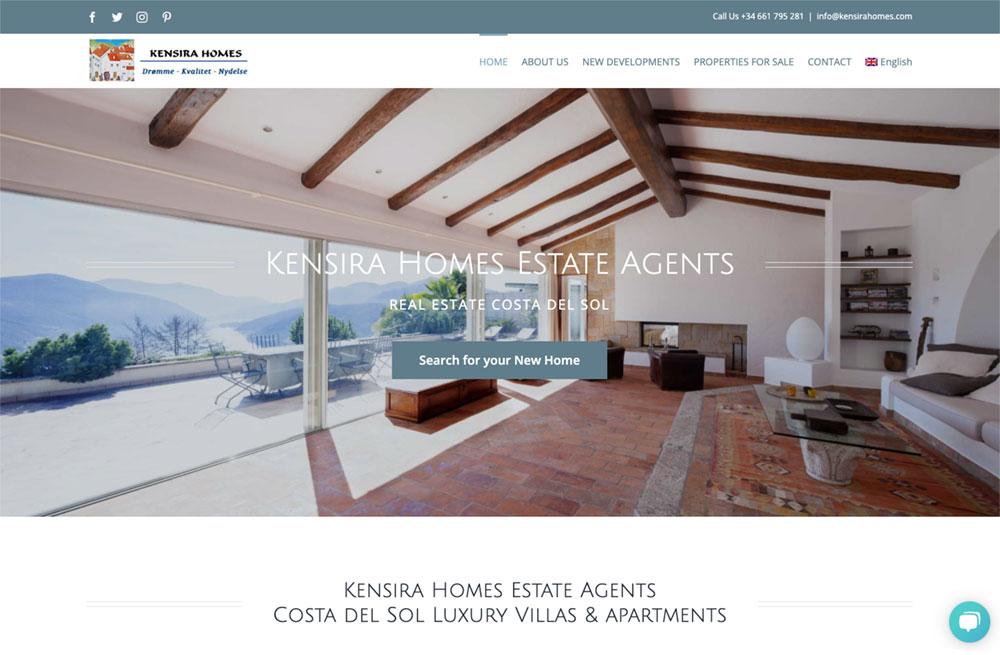 the best new developments costa del sol kensira homes Danish estate agents